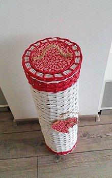 Košíky - zásobník na toaletný papier - 9666361_