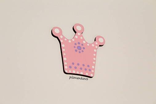 Korunka pre princeznú aj princa farebná dekorácia
