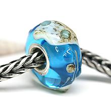 Náramky - Modra pandorka - islands ch-74 - 9667220_