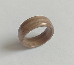 Prstene - Drevený prsteň- orech americký - 9666204_
