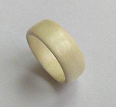 Prstene - Drevený prsteň- Javor - 9666228_