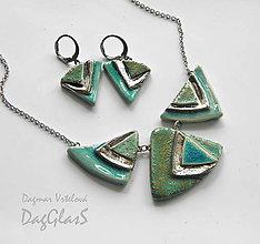 Sady šperkov - sada šperkov z keramiky - 9667451_