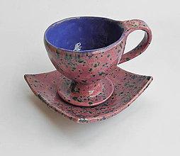 Nádoby - šáločka na kávičku-Romantická... - 9667823_