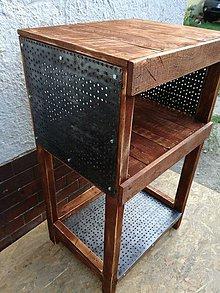 7f23d2d81c Nábytok - stolík (na gramofon) - 9668504