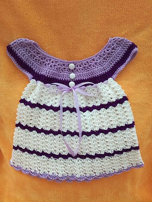 8f7cb3b573a0 Háčkované šaty   ZM-Handmade - SAShE.sk - Handmade Detské oblečenie
