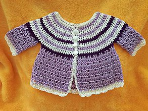 3ddbb4591fb3 Detské oblečenie - Háčkovaný svetrík - 9666916