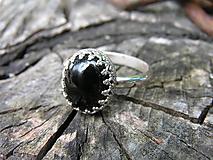 - Strieborny prsteň Ag 925 Ónyx - 9666386_