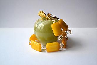 Sady šperkov - Nefritová sada - 9667558_