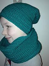 Detské čiapky - čiapka+nákrčník - 9666551_