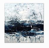 Obrazy - abstraktné obrazy, Sea, 79x79 - 9668337_