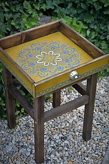 Nábytok - Odkladací stolík Maroko - 9668672_