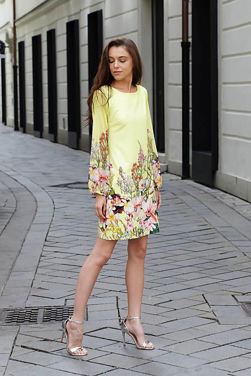 Šaty slnečná lúka   ceccilia - SAShE.sk - Handmade Šaty e33b0ecb5bd