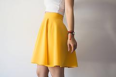 Sukne - Skaret Skirt Yellow - 9672130_