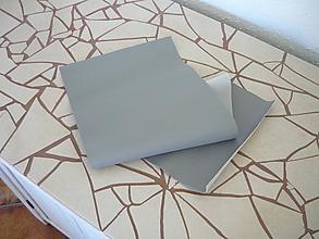 Textil - Textilná koženka šedá (dopredaj) - 9672456_