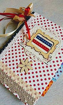 """Papiernictvo - Zápisník """"Red Dots"""" - 9672006_"""