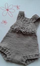 Detské oblečenie - Body na chladnejsie dni - 9581222_