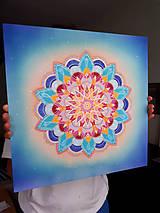 Dekorácie - Mandala lásky a komunikácie - 9669777_