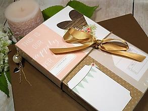 Papiernictvo - Forever zápisník-svadobný plánovač - 9670479_