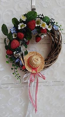 Dekorácie - Poďme do záhrady pre jahody! - 9671832_