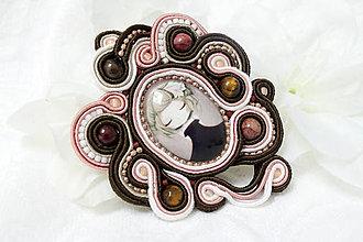 Iné šperky - Brošňa zasnená - 9669302_