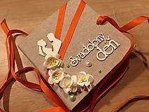 Papiernictvo - Svadobná obálka na peniaze - 9670274_