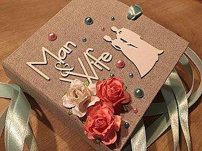 Darčeky pre svadobčanov - Svadobná obálka na peniaze - 9670235_