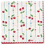 Papier - Servítka  G 66 -Cherry white- akcia!!! - 9670000_