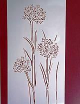 Pomôcky/Nástroje - Šablóna-rastliny - 9672356_