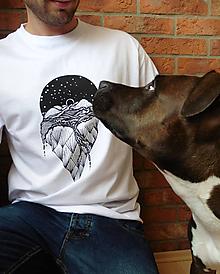Oblečenie - Pánske tričko - Fantázia - 9671342_