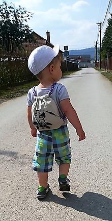 Detské tašky - Detský mini ruksačik SLOVENSKO - 9669508_