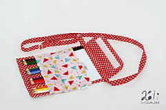 Detské tašky - Detská kabelka - pastelkovníčka Veselé dáždniky - 9671570_