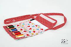 Detské tašky - Detská kabelka - pastelkovníčka Veselé dáždniky - 9671575_