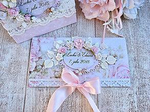 Papiernictvo - Svadobná obálka na finančne dary - 9669355_