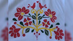 Iné tašky - ♥ Plátená, ručne maľovaná taška ♥ - 9671093_