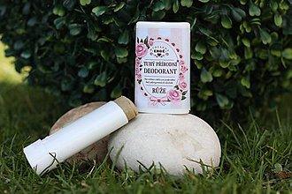 Drogéria - Ruža - prírodný deodorant - 9669359_