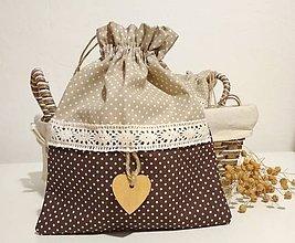 Úžitkový textil - Vrecko na bylinky - 9672183_