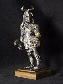 Socha - Kolekcia rytierov v zbroji (rytier v zbroji s francúzskymi ľaliami) - 9669615_