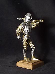 Socha - Kolekcia rytierov v zbroji (rytier v zbroji s dvoma dýkami) - 9669630_