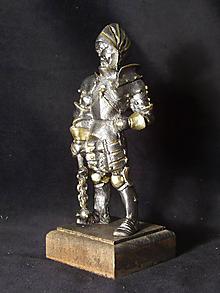 Socha - Kolekcia rytierov v zbroji (rytier v zbroji s remdik) - 9669670_