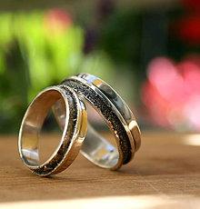 Prstene - Svadobné obrúčky - 9670814_