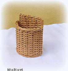 Košíky - Košík na hrebene (Hnedá) - 9670553_
