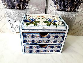 Krabičky - Folková komôdka - 9671947_