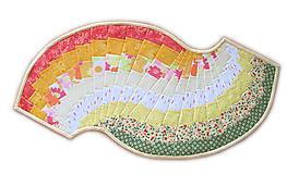 Úžitkový textil - Obrus Spicy Spiral letný - 9674202_
