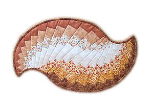 Úžitkový textil - Obrus Spicy Spiral hnedý - 9674215_