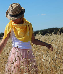 Detské doplnky - šátek/citrus - 9672902_