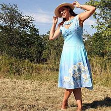 Šaty - Pre kvetinovú vílu... - 9674601_