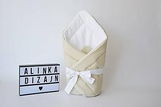 Textil - Zavinovačka krémová - 9673641_
