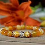 - Tropica minerál žltý krajkový Achát - 9672804_