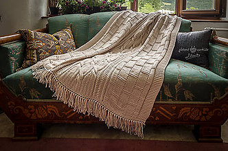 Úžitkový textil - deka KAROLINKA - 9674518_