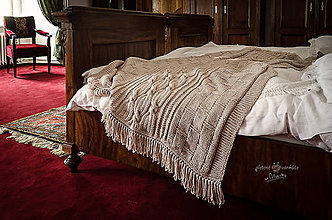 Úžitkový textil - deka KAROLINKA - 9674519_
